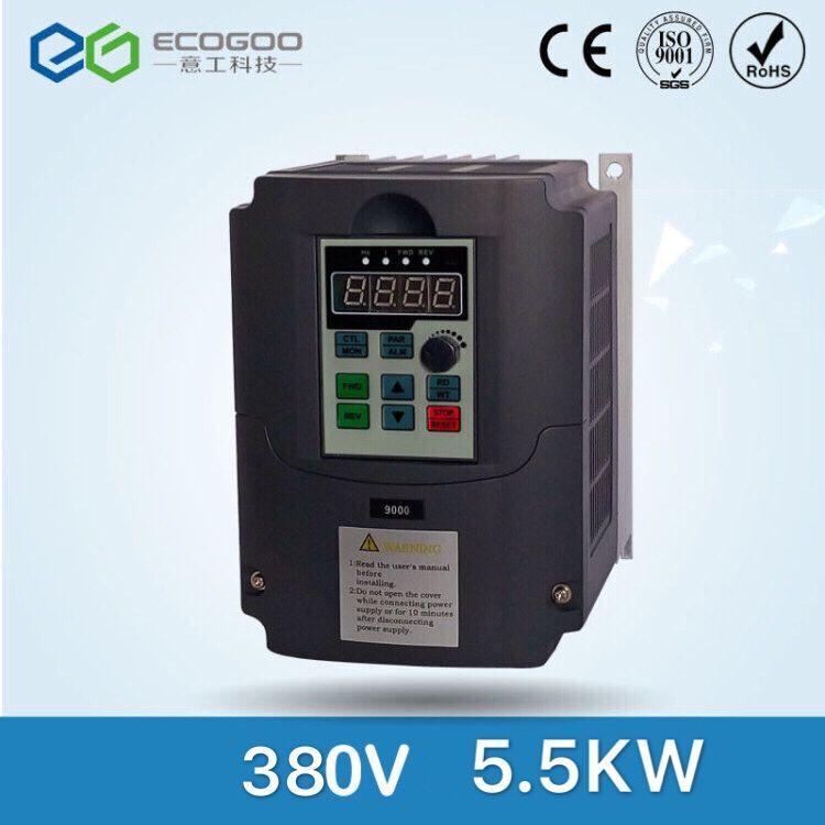 VFD 1.5KW/2.2KW/4KW/5.5kw/7.5KW/11KW تردد تحويل 3 المرحلة العاكس 380v متغير تردد محرك