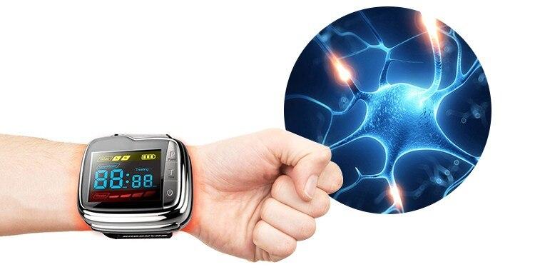 مصنع Lastek تقدم ساعة علاج الليزر لمرض السكري وارتفاع ضغط الدم وفرط شحميات الدم وعلاج ارتفاع السكر في الدم