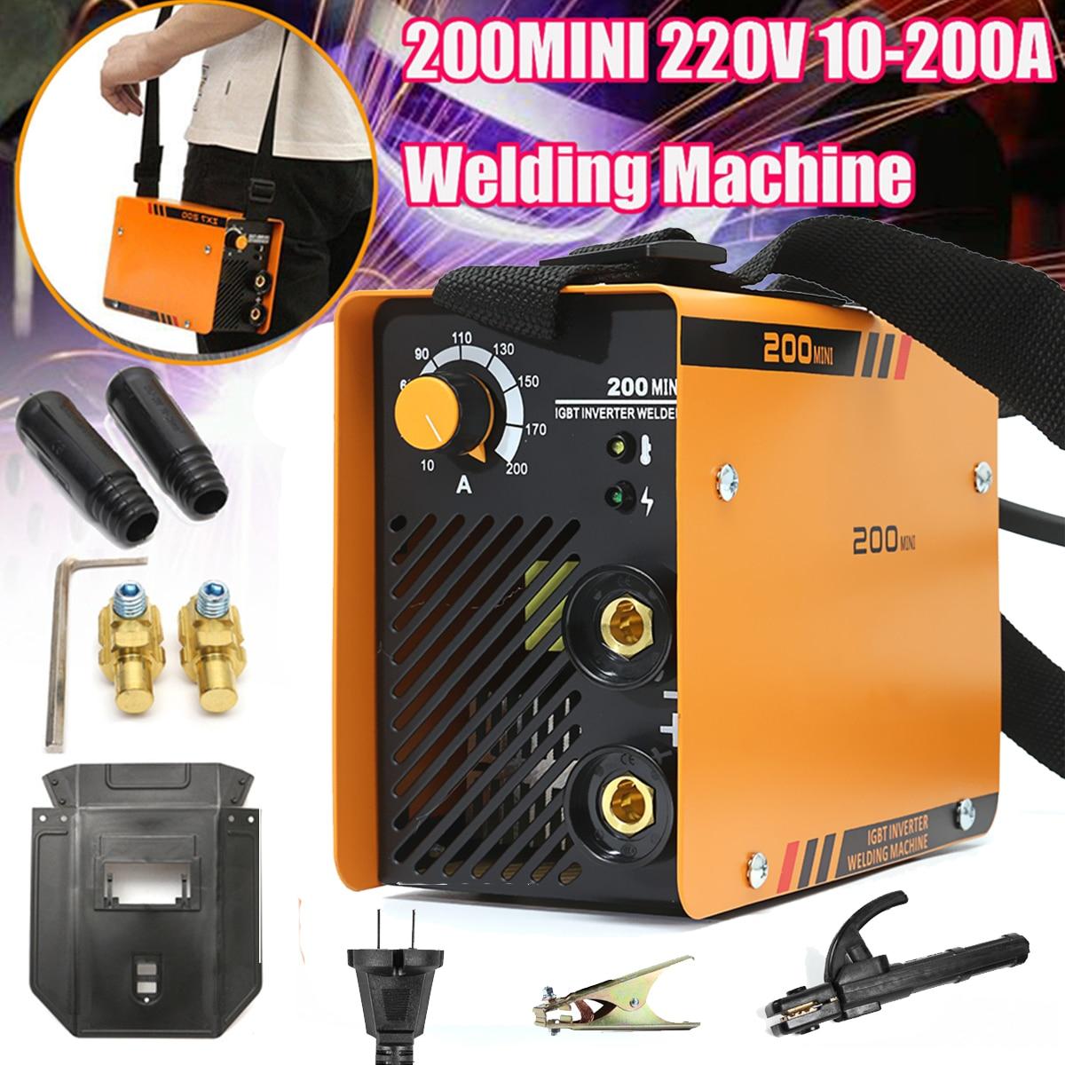 ZX7-200MINI 220 kW Mini MMA eléctrico V 10-200A inversor arco herramienta de soldadura de alta calidad