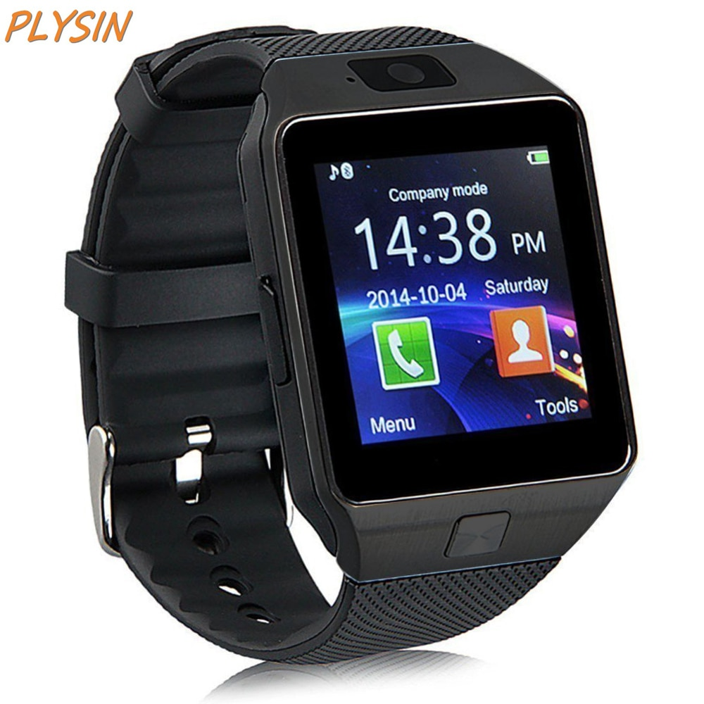 Joysin DZ09 reloj inteligente Bluetooth desbloqueado Smartwatch GSM tarjeta SIM con cámara soporte Android IOS iPhone para hombres y mujeres