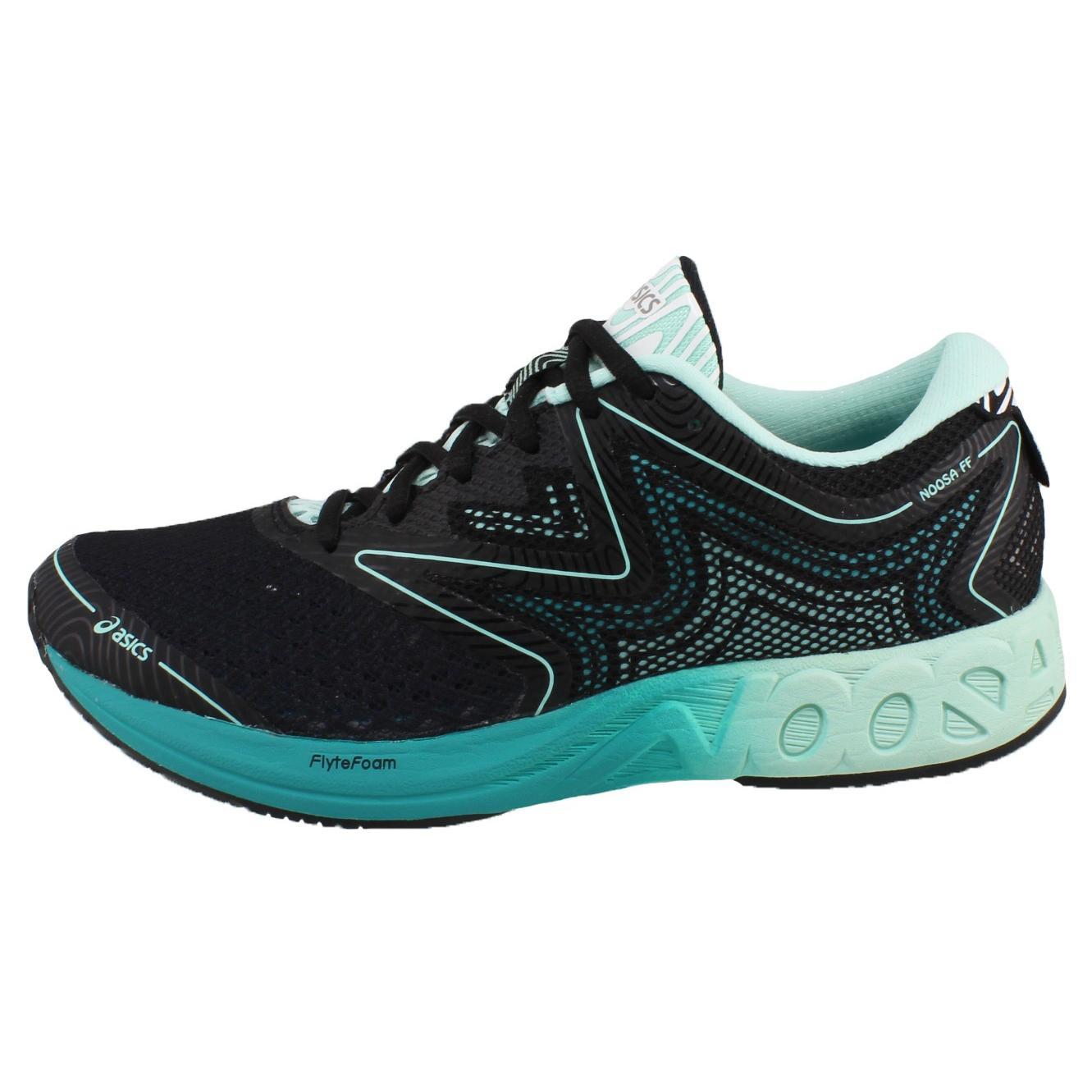 ASICS Zapatillas de running Mujer NOOSA FF, Atletismo y running, Black Bay Viridian Green