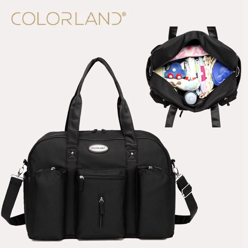 Colorland модная детская сумка-Органайзер для подгузников для мам и мам, сумка-мессенджер для мамы, сумка для мамы, сумка для мам