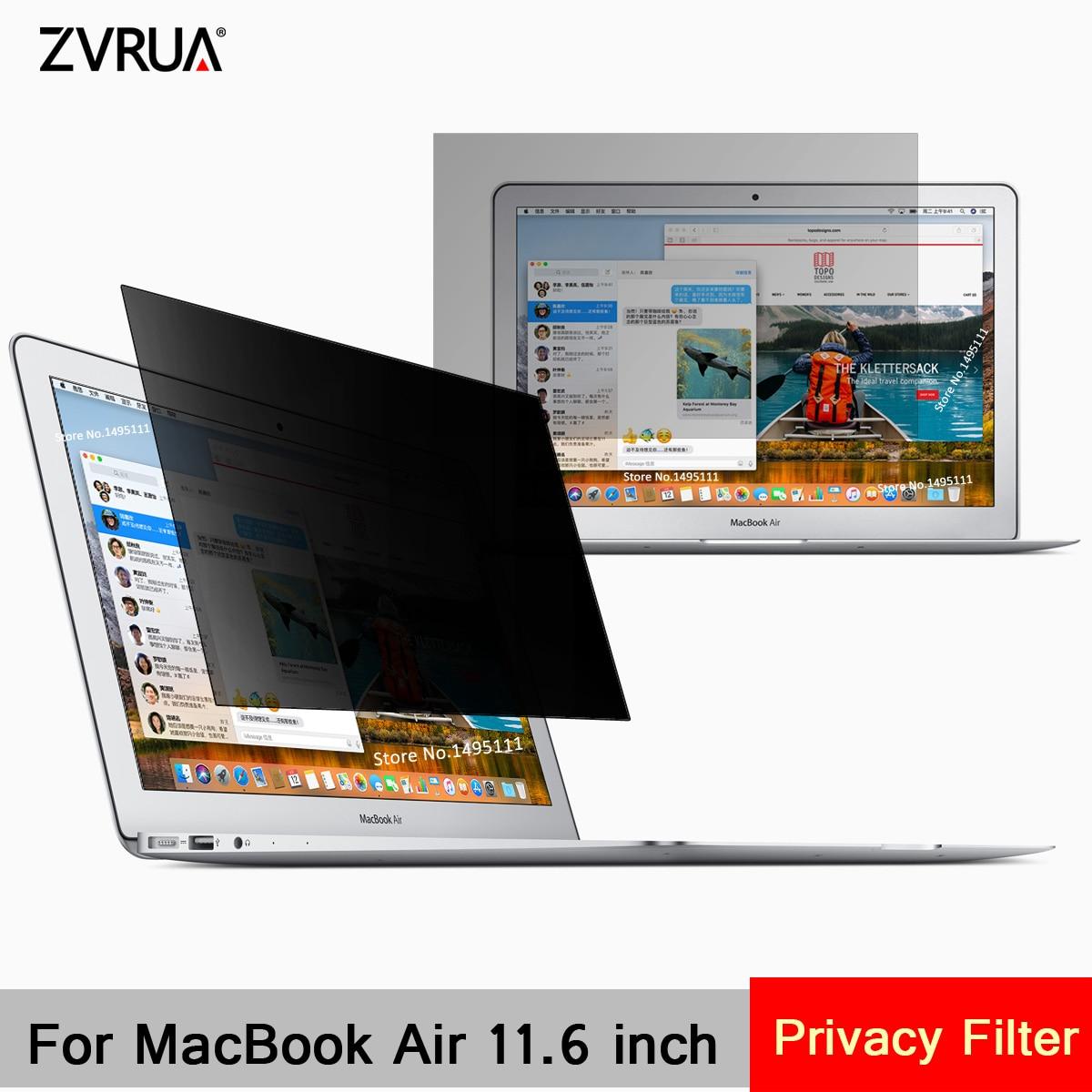 Für Apple MacBook Air 11,6 zoll (256mm * 144mm) privatsphäre Filter Laptop Notebook Anti-glare Screen protector Schutz film