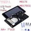 WEIDA – écran tactile LCD de remplacement avec châssis pour Asus MemoPad HD7 ME175 ME175CG K00Z