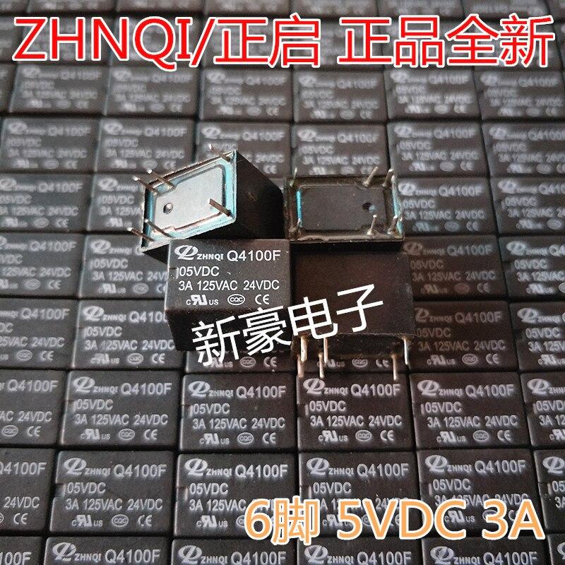 5 pçs/lote O novo Q4100F 6PIN 5VDC 3A substitui o HK4100F-DC12V-SHG
