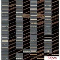 67pcsset decor horizontal 3d model stl relief for cnc stl format 3d model for cnc stl relief artcam vectric aspire