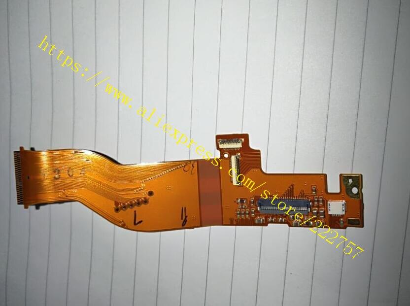 Piezas de repuesto para Canon EOS For 450D Rebel XSi KISS X2 carcasa trasera Flex Cable