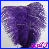 ems free shipping cheap ostrich feather 100pcs 20 22 inches 50 55cm purple ostrich plumage ostrich plume