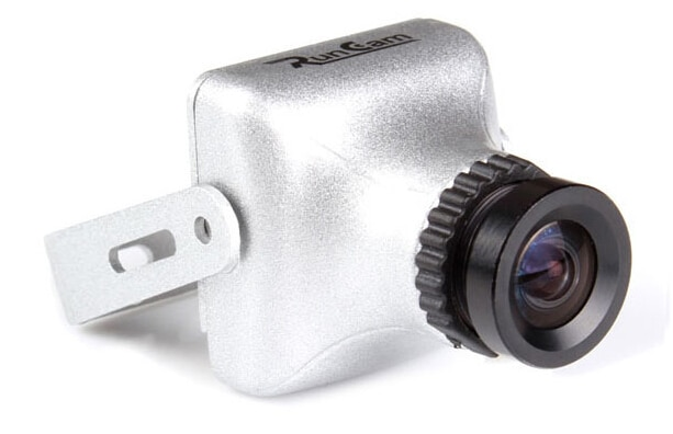 RunCam carcasa de aleación de magnesio SkyPlus/PZ0420M 600TVL 18g de amplio voltaje PAL Mini cámara FPV para QAV250