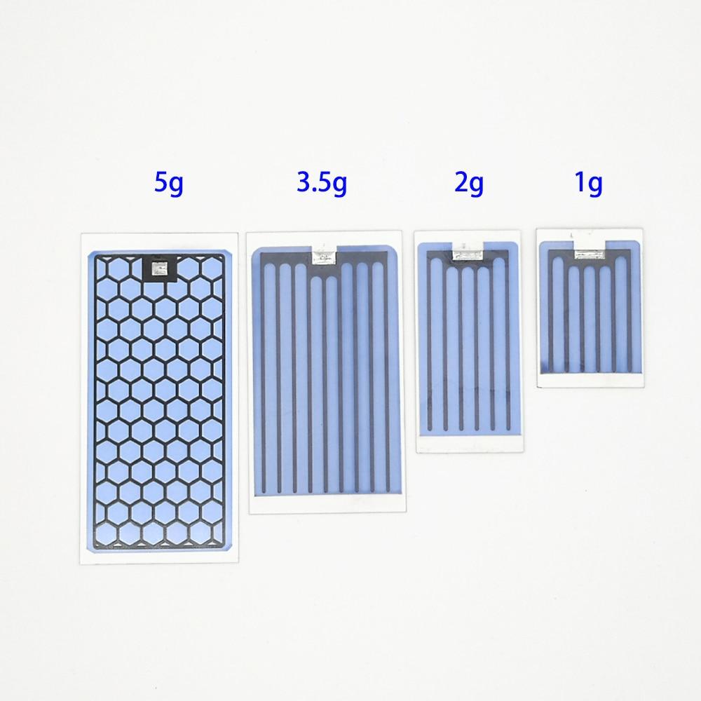 Placa cerámica de ozono con Tinning para generador de ozono, de larga vida útil, 1g, 2g, 3,5g, 5g, 10000hrs + envío gratis