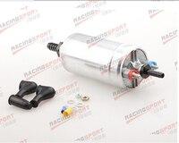 External Fuel Pump 044 +3/4 Inlet 3/8Outlet Barb Black