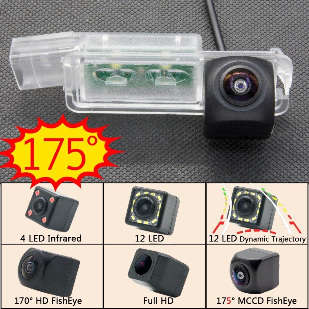 Ojo de pez 175 grados MCCD Starlight aparcamiento HD cámara de Vista trasera de coche para VW Golf 7 MK7 VII Passat CC Scirocco lamando Monitor de coche