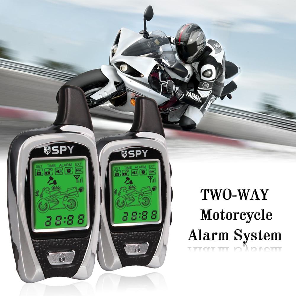 Мотоцикл 2 способ противоугонные устройства для Системы 5000 м Диапазон микроволновая печь Сенсор обнаружения анти-угон дистанционного запу...