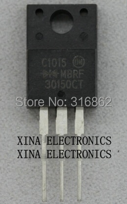 MBRF30150CT MBRF30150 30150CT MBRF 30150CT 30A 150 V a-220 ROHS ORIGINAL 10 unids/lote envío gratis electrónica composición kit