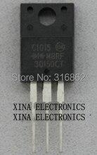 Kit de composition électronique de MBRF30150CT   MBRF30150 30150CT MBRF 30150CT 30A 150V à 220 ROHS ORIGINAL, 10 pièces/lot, livraison gratuite