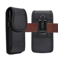 Чехол на пояс для телефона, универсальный, для моделей 4.7-6.9 дюйма, черный, на липучке, подходит для iPhone, Xiaomi, Huawei, Samsung
