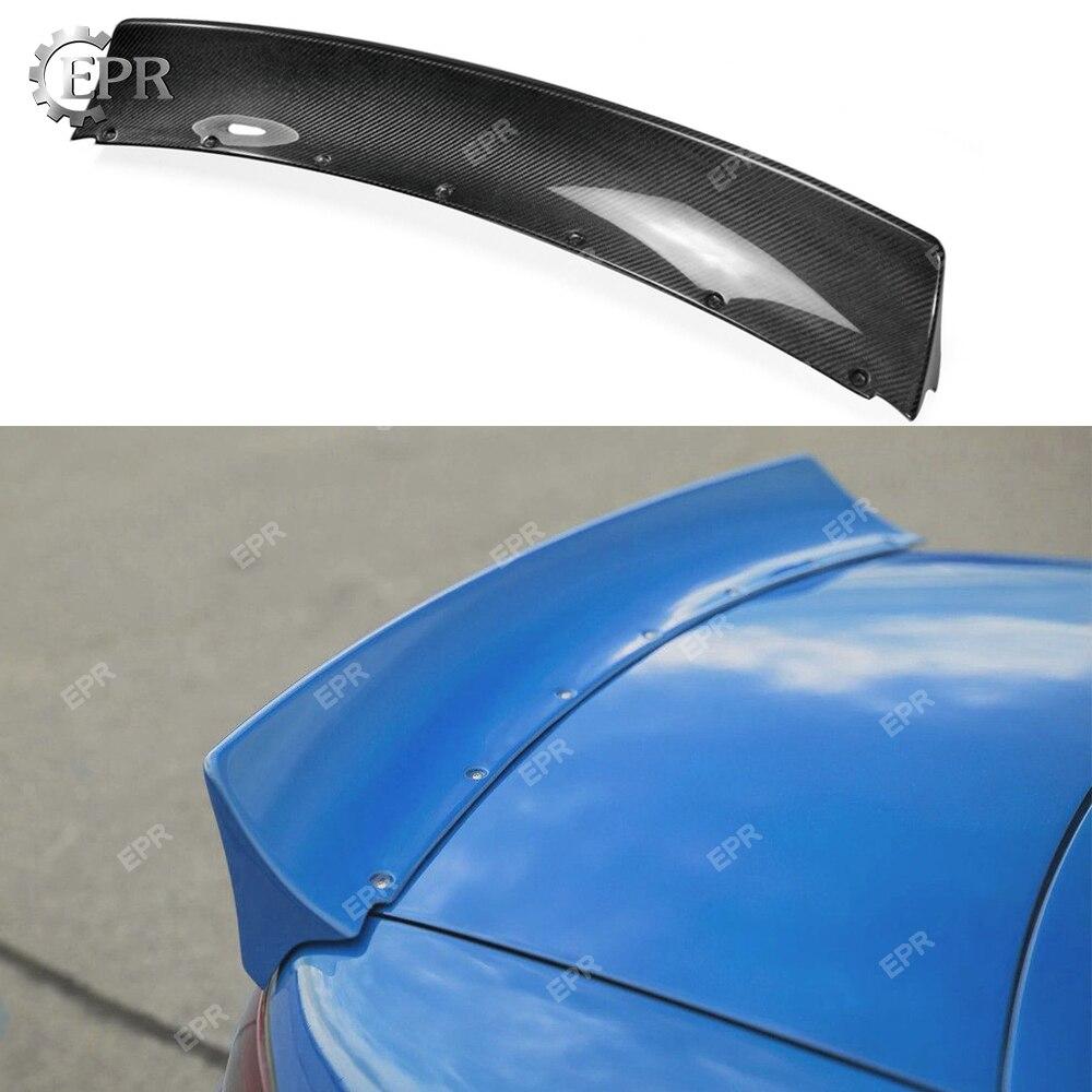 Para Mazda MX5 NA Miata Roadster (1989-1997) R conejo gran cuerpo de fibra de carbono Spoiler trasero para MX5 NA Miata de alerón para tapa de maletero