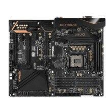 Для ASRock Z170 extreme 4 оригинальная настольная 1151 материнская плата Z170 Socket LGA1151 DDR4 SATA3 USB3.0 M.2
