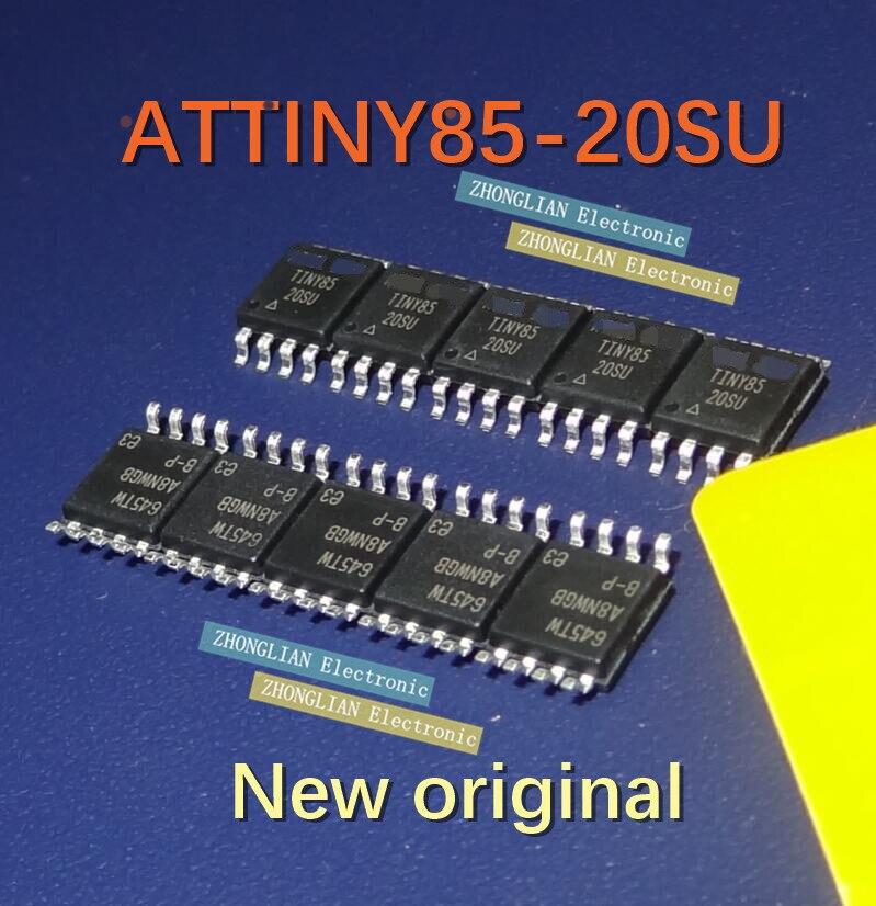 ¡Envío Gratis 100 Uds ATTINY85 ATTINY85-20SU SOP8 100% original nuevo en stock!