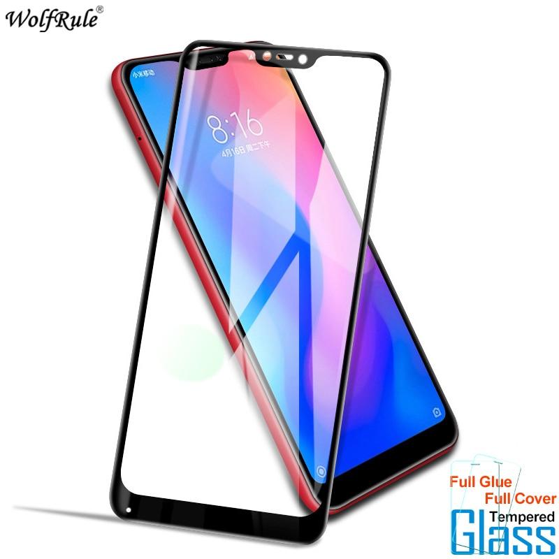 Для стекла Xiaomi Mi A2 Lite Защитная пленка для экрана с полным клеем закаленное стекло для Xiaomi Mi A2 Lite стекло Redmi 6 Pro пленка для телефона