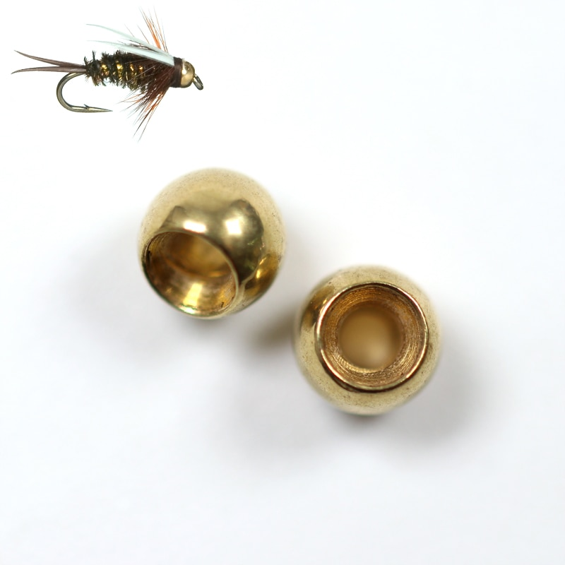 Wifreo 50pcs Fly Tying Brass Beads Nymph Bead Head Fly Tying Bead 2.3mm 2.8mm 3.4mm 3.8mm China Fly Fishing Material Wholesale icerio 50pcs fly tying brass beads nymph streamer bugs fly hook tying materials