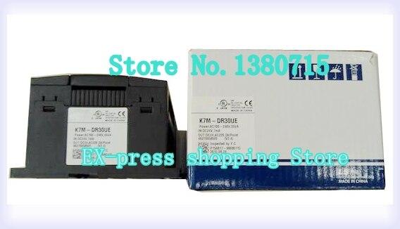 K7M-DR30UE 18 DC المدخلات 12 التتابع الناتج 85-264VAC التتابع PLC