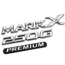 1 ADET 3D özel modifiye 250G MARKX PREMIUM amblemi modifiye araba etiketleme rozeti araba sticker Reiz Araba Styling