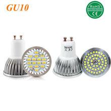 100% Assurance qualité GU10 11W 12W SMD 2835 16 48 ampoule LED blanc chaud AC 220V Spot LED en aluminium Spot
