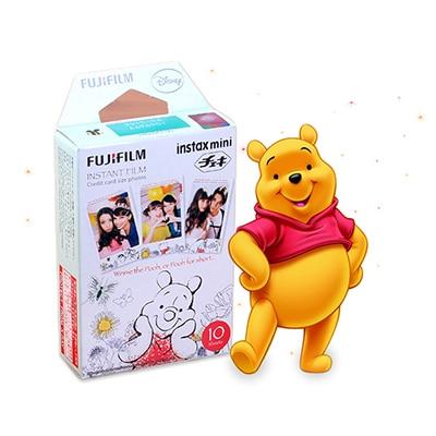 Genuine Fujifilm Fuji Instax Mini 9 Film Winnie Pooh 10 Sheets For 9 8 7s 90 25 dw 50i 50s Share SP-1 SP-2 Liplay Instant Camera