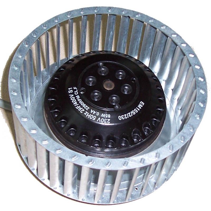 منفاخ هواء الطرد المركزي الصامت لتنظيف غبار حمام الهواء EM15S2/4 140x59 140x39 مروحة المكره المائلة إلى الأمام