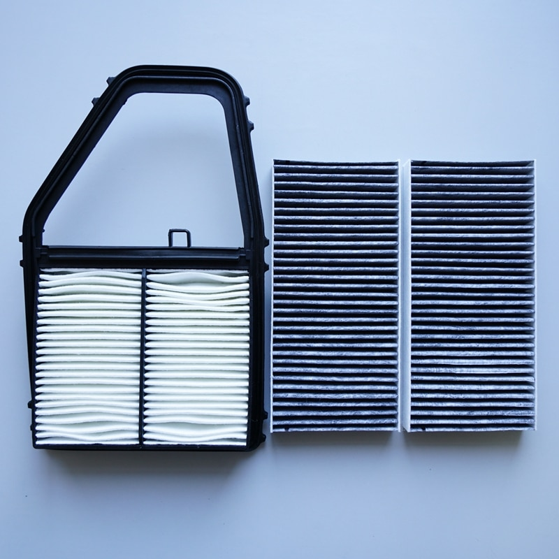 Filtro de aire + filtro de cabina para HONDA CIVIC # F1100-4