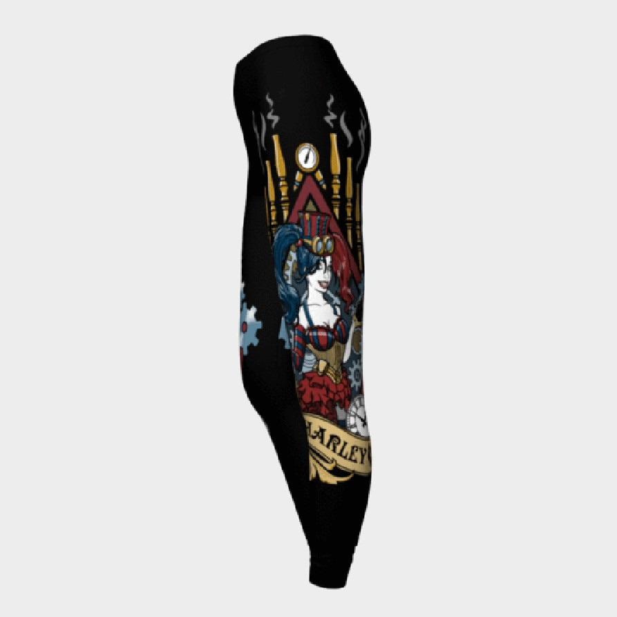 2019 nova harley quinn leggings femininas solenemente bom leggins impresso legging para calças femininas