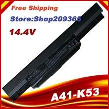 14.4 V ensemble pour batterie dordinateur portable A32-K53 A41-K53 pour ASUS K53 K53E X54C X53S X53 K53S X53E