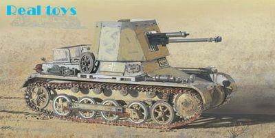 Kit de modelo Dragon 1/35 6230 Panzerjager I 4,7 cm Pak 43/kit de modelo de tanque de maqueta