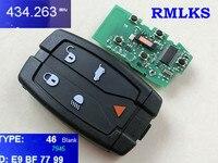 Автомобильный Дистанционный смарт-ключ RMLKS 315 МГц 433 МГц ID46 чип подходит для Land Rover для Range Rover Freelander 2 LR2 Sport