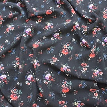 145x100cm Imported Color Floral Print Soft Chiffon Fabric for Women Long beach Dress,Shirts Sewing P