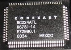 RC224ATL R6781-14 qfp100 5 قطعة