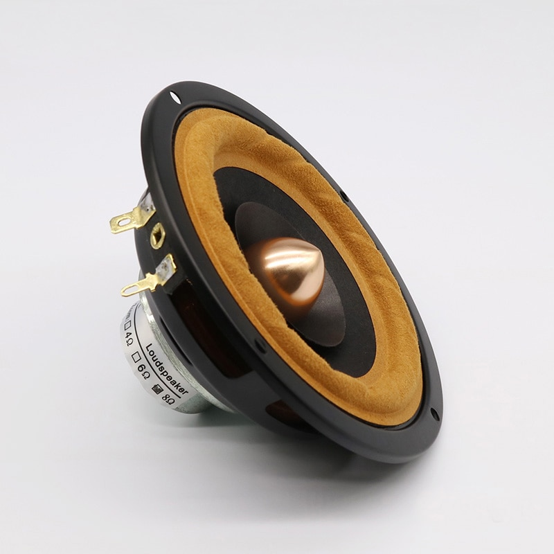4,5 pulgadas 4Ohm 8Ohm 25W altavoz de Audio de gama completa NdFeB altavoz magnético cuerno trompeta DSAR-4F-25W-04A