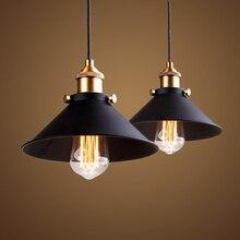 vintage industrial pendant lights iron loft style light dining room luminaire lampara pully retro Bar/Coffee Shop pendant lamp
