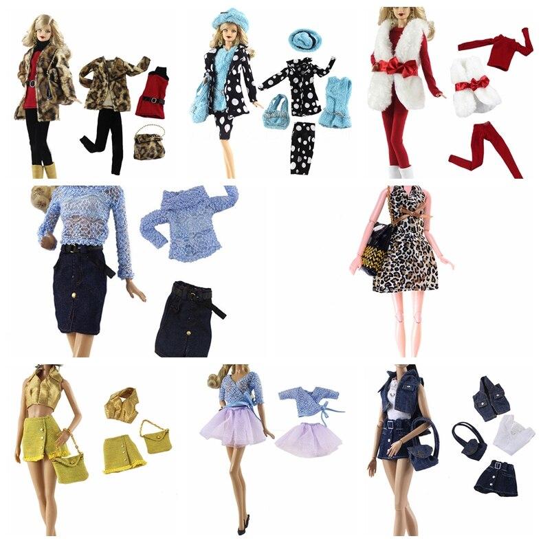 Новейшая кукольная праздничная одежда Элегантная блузка повседневная одежда костюм для девочек, брюки, одежда аксессуары для кукольных де...