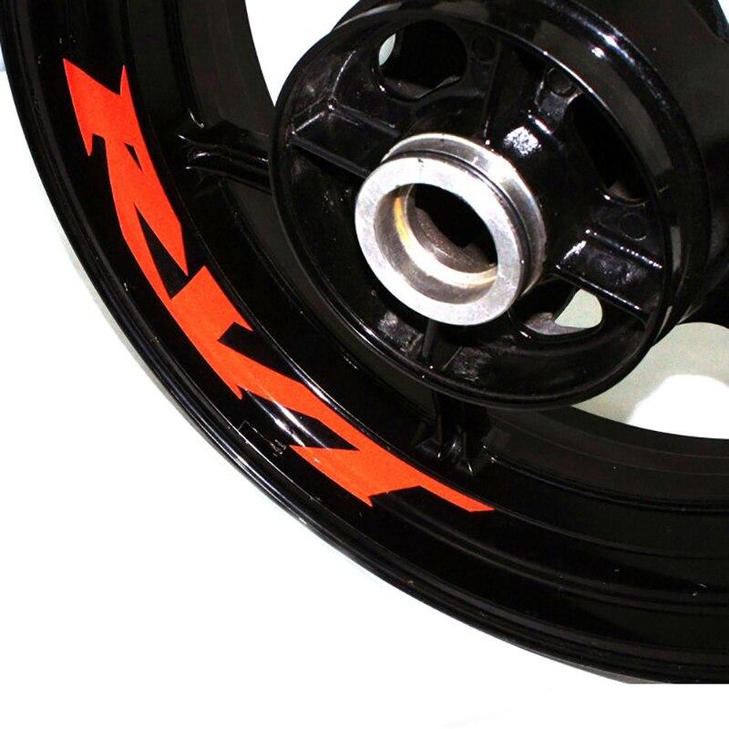 Adhesivo para rueda de motocicleta pegatina reflectante bicicleta de borde motocicleta adecuada para HONDA RVT