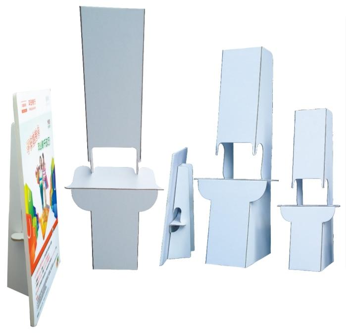 KT tablero cartel etiqueta de cartón soporte de papel duro publicidad soporte pantalla marco espalda blanca estante de escritorio POP