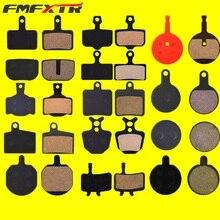 FMFXTR 4mm 2 paires de plaquettes de frein à disque avant arrière frein à disque en métal plaquette de résine pour shi-mano M515 M355 SramAvid Magura mt2 Mt4 mt6 Etc.