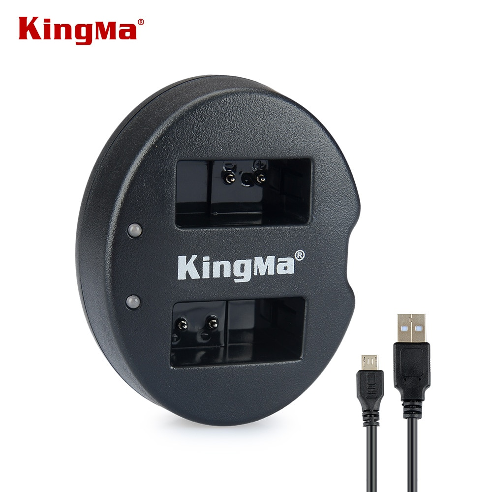 KingMa USB Dual Carregador EN-EL20 ENEL20 EN EL20 Carregador de Bateria para Nikon J1 J2 J3 S1 COOLPIX Um