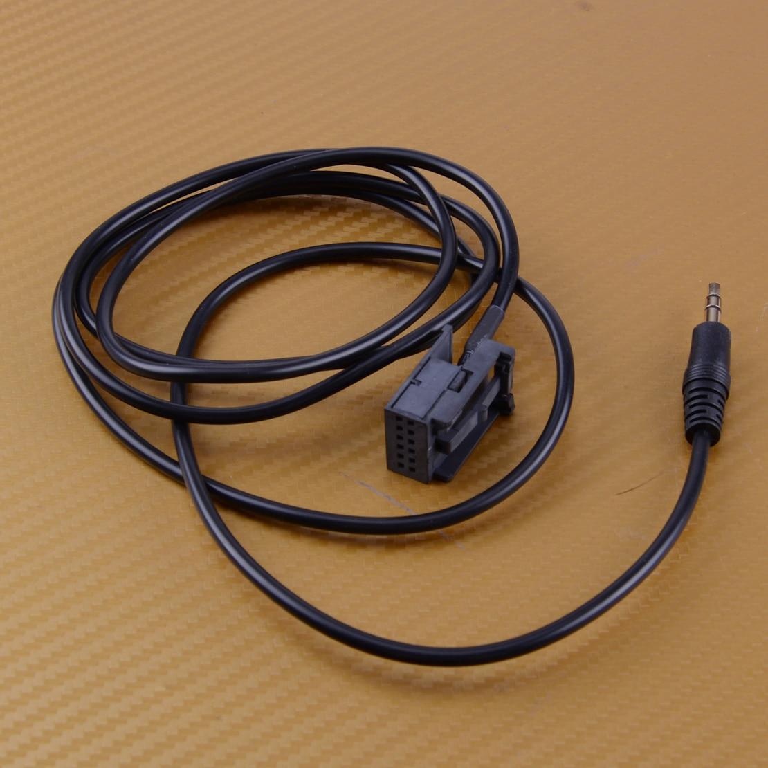 Citall adaptador de 2 pinos e 3.5mm, adaptador de entrada de carro, rádio aux, entrada de 3.5mm, adequado para opel vauxhall cd30 mp3/cd70 navi opel