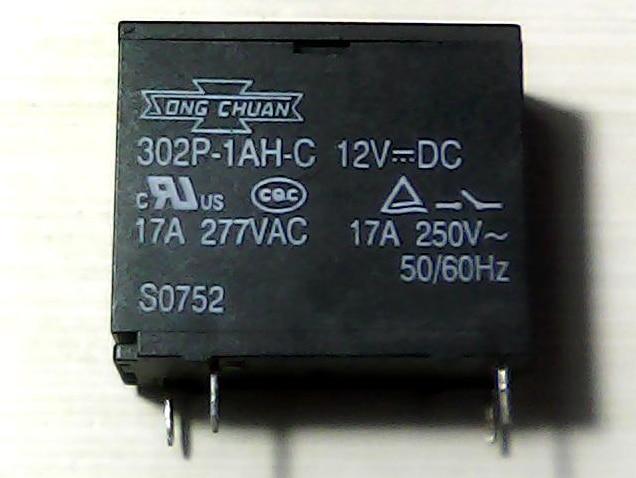 9 12V 17A 4 302P-1AH-C 12VDC 62F