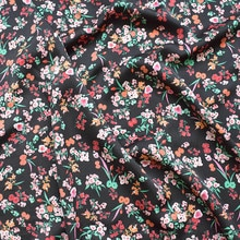 145x100cm Imported High End Floral Print Soft Chiffon Fabric for Women beach Dress,Shirts Sewing Pat