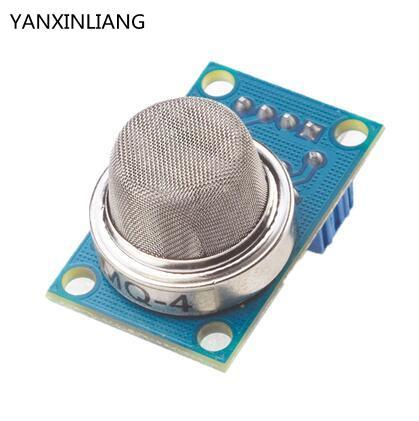 MQ-4 DC5V LPG Alcohol Methane Hydrogen Smoke Gas Detector Sensor Module For Arduino