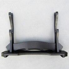 Socle de montage en bois épée de samouraï Katana Wakizashi support présentoir 2 couches