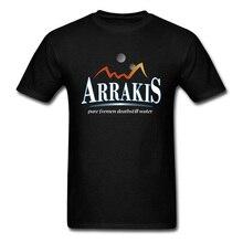Arrakis Water Dune T Shirt Gobi Desert Mountain Printed On Tshirts Mens Cotton O Neck Casual Tee-Shirts Mothers Day